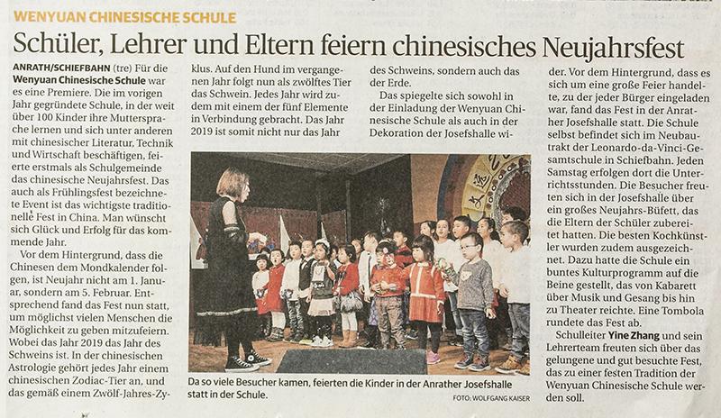 Artikel Rheinische Post